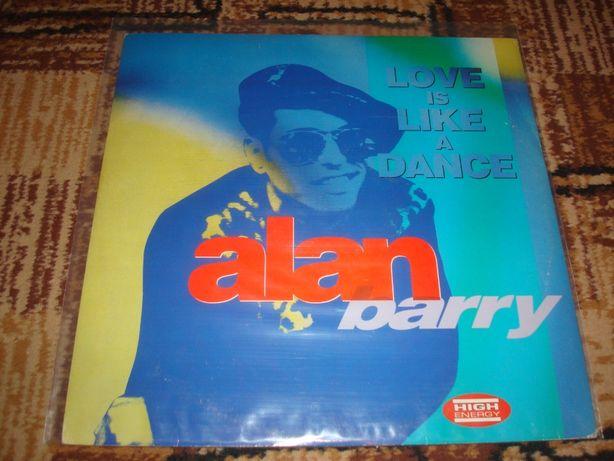 Płyty winylowe Alan Barry-Love Is Like A Dance-Italo Disco