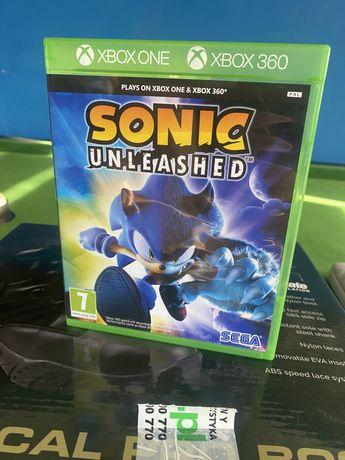 Xbox 360 Sonic Unleashed gra dla dzieci xbox one x360