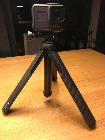 Kamera  GoPro Hero Black 7 - z GoPro Fusion Grip/statyw -stan idealny