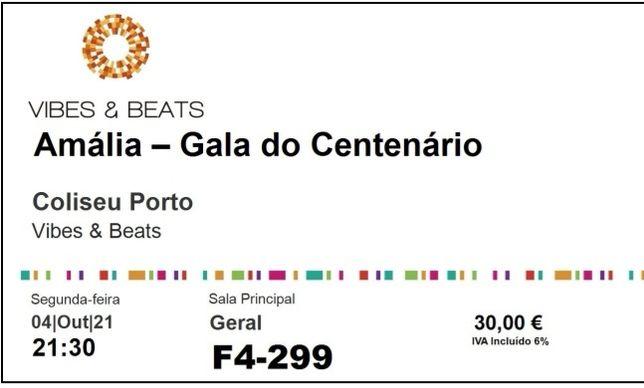 """Bilhetes para o espetáculo """"Amália - Gala do centenário"""""""