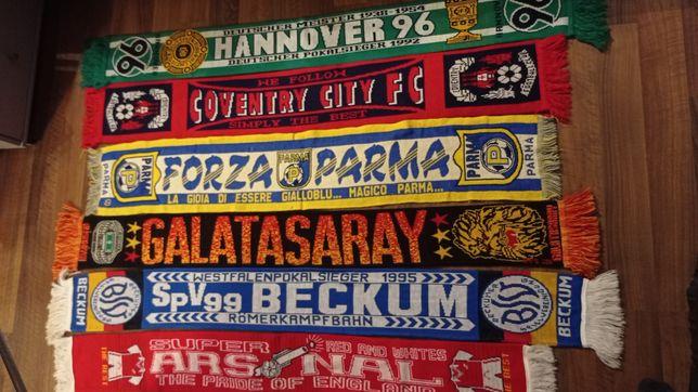 Szaliki Hannover Coventry Parma Galatasaray Becum Arsenal