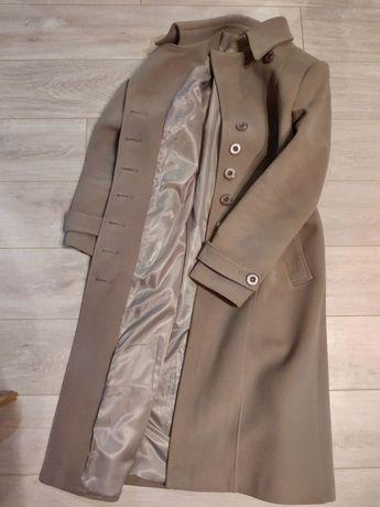 Пальто с поясом (48-размер)