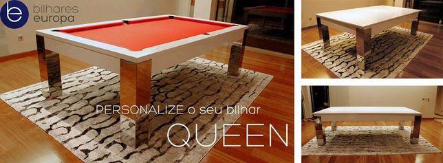 Bilhares europa fabricante mod Queen luxury oferta tampo de jantar