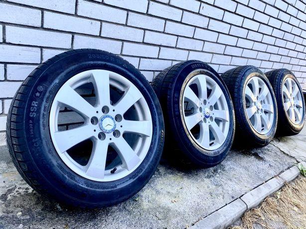 Диски з шинами R16 5.112 ET38 Mercedes 210,211,220, Skoda,Wolksvagen
