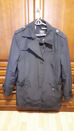 Демисезонная куртка плащ с утеплением по спинке бренд Воронин