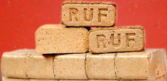 Briquetes Ecológicas de madeira RUF