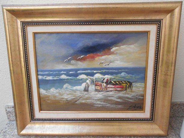 Maravilhoso ORIGINAL - pintor castelhano Fausto Palencia (já falecido)