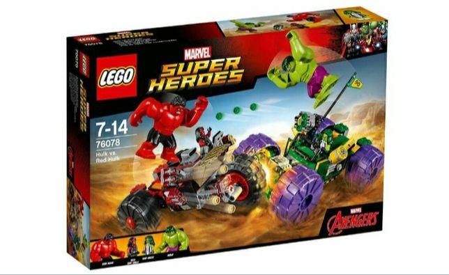"""Новый набор LEGO Super Heroes """"Халк против Красного Халка"""" (76078)"""