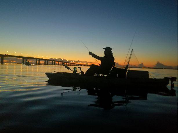 Kayak de Pesca Catcher, Sonda Raymarine Drangonfly 7Pro