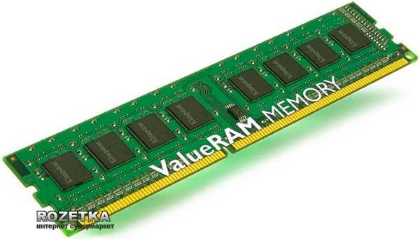 Оперативная память Kingston DDR3-1333 4096MB PC3-10600 (KVR13N9S8/4)