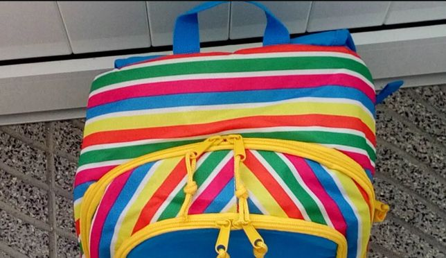 Para a escola, praia, desporto, campismo com esta mochila resistente!