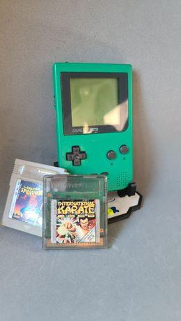 Game Boy Pocket com 2 jogos