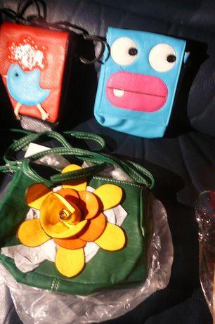 Torebka mała kwiatek i saszetki na ramię dla dziewczynki