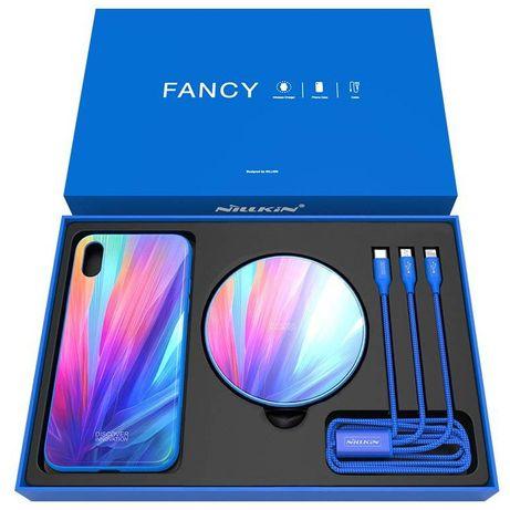 Nillkin  для iPhone X/XS (3 в 1) - Fancy gift set, беспроводная зарядк
