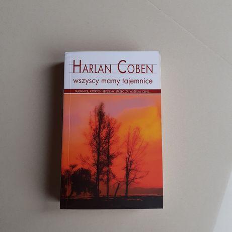 "Książka ""Wszyscy mamy tajemnice"" Harlan Coben"