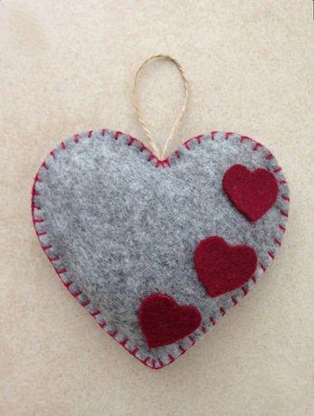 Декор из сердечек
