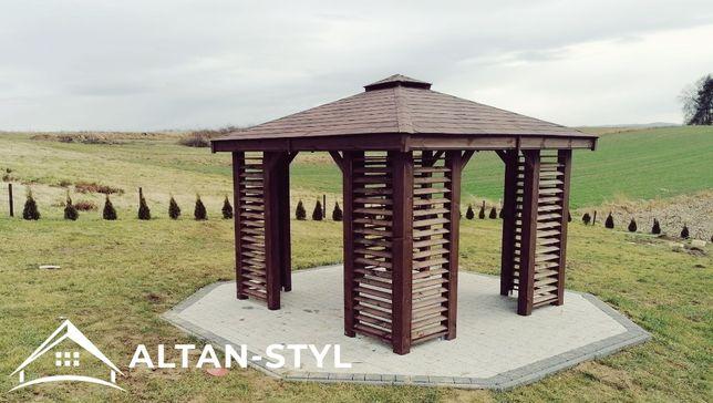 Altany, altanka, wiaty, altanka ogrodowa KARINA 3x3m PRODUCENT
