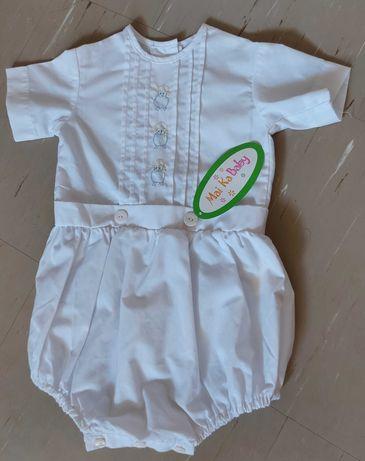 Eleganckie ubranko (chłopiec lub dziewczynka), np. do chrztu, 68-74