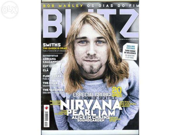 Blitz nº 59 maio de 2011 - capa nirvana/kurt cobain (portes incluídos)