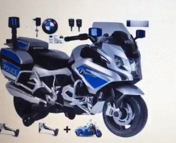 Дитячий електронний мотоцикл