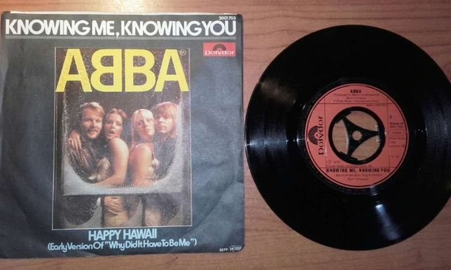 "ABBA - Knowing Me, Knowing You (7"", Single)"