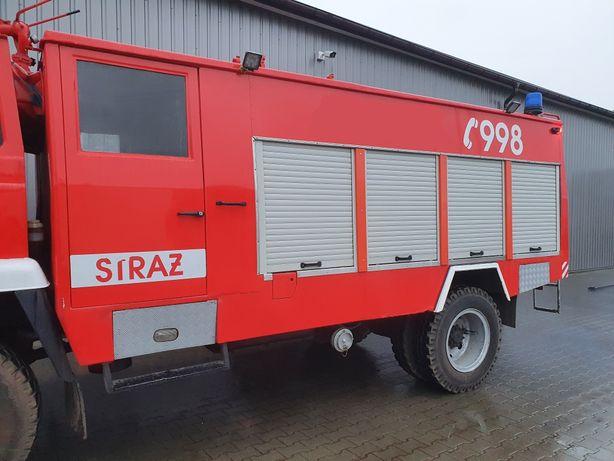Zabudowa pożarnicza STAR 244 z autopompą, oświetlenie kompletna