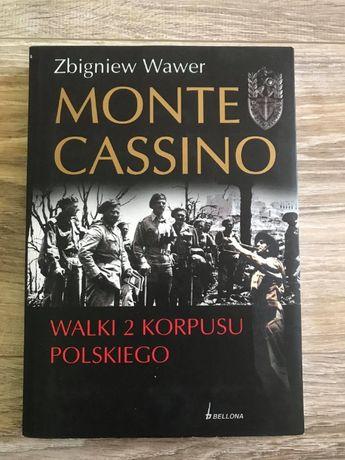 """""""Monte Cassino - Walki 2 Korpusu Polskiego"""" - Zbigniew Wawer"""