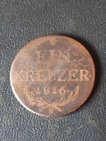 1 крейцер 1816 года