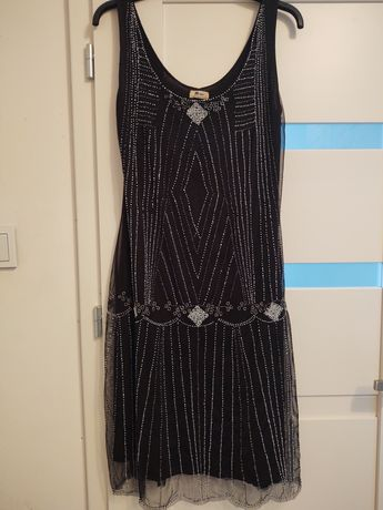 Sukienka a'la lata 30ste
