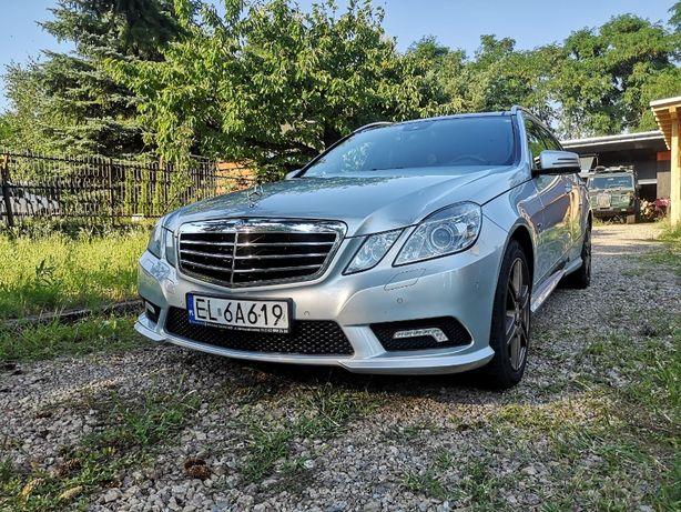 Mercedes E 350 4x4 Pakiet AMG salon Polska Zamiana-na jacht motorowy