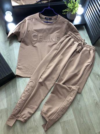 костюм Celine Турция спортивный штаны футболка