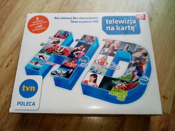 Dekoder TNK HD Telewizja na kartę HD ITI-2850ST nbox HDTV