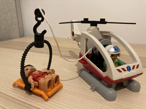 Lego Duplo helikopter ratunkowy