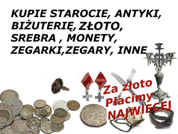 Skup antyków,kupie,monety,biżuterii. zegarków.zlota