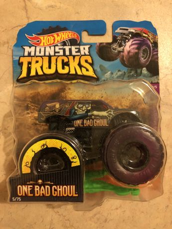 HotWheels Monster Trucks One Bad Ghoul