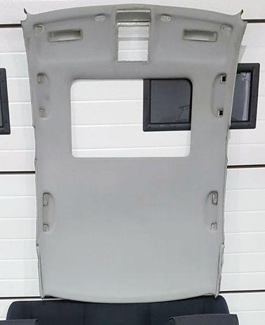 BMW e39 podsufitka kompletna z oświetleniem, szyberdach schwarz 2