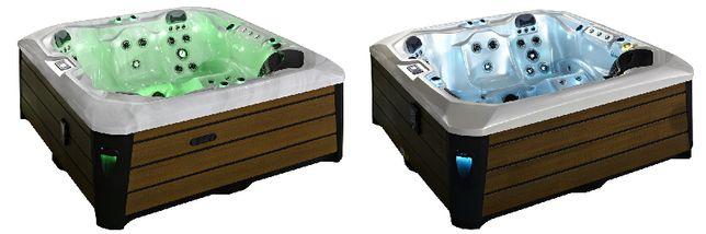6 os. SPA Ogrodowe Infinity, 91 dysz, Oświetlenie LED