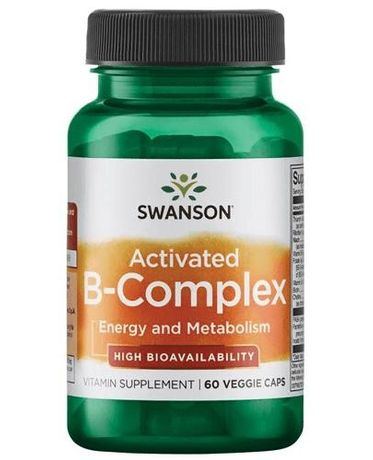 SWANSON Activated B-complex - 58 kaps.