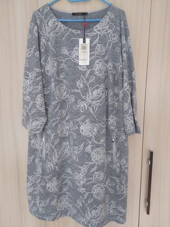NOWA sukienka Monnari, r. 52, szara