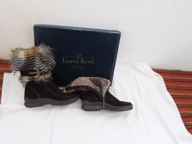 0Продам сапоги(полусапожки,ботинки) размер 36 Laura Berti