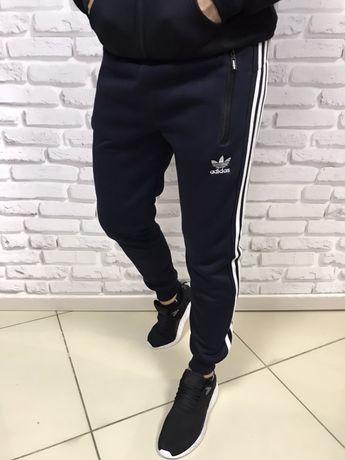 Теплые мужские спортивные штаны Adidas Coup