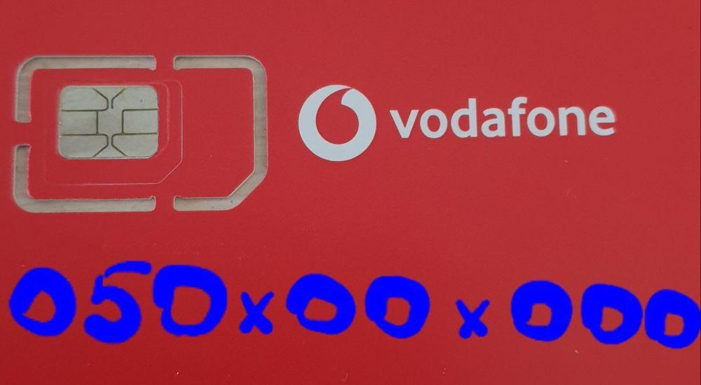 Номер Platinum (7 нулей) sim, для бизнеса, Vodafone - МТС Чернигов - изображение 1