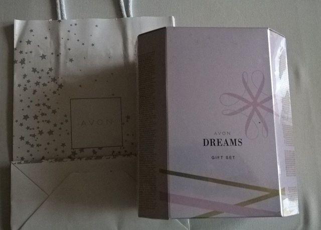 Avon Dreams zestaw prezentowy lub dezodorant i balsam