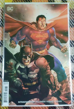 Batman Superman #1 Variant Cover 2019 [DC Comics]