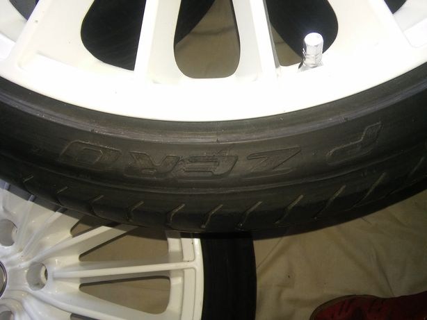 Felgi OZ R18 H8 ET43, Opony Pirelli, Falken 205/ 40 R18 naciąg