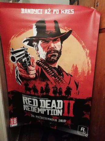 Red Dead Redemption 2 Wielki l Baner/Plakat