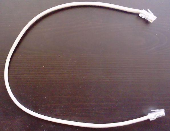 Kabel sieciowy LAN RJ-45 UTP szary 0,4m