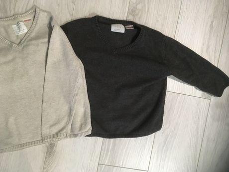 Dwa sweterki Zara 98