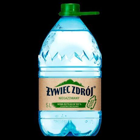 Butelka butelki 5l po wodzie duża ilość