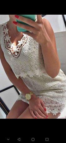 Fantastyczna sukienka mini/tuniczka S